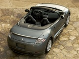 Photos of Mitsubishi Eclipse GT Spyder Premium Sport Package 2005–08
