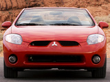 Photos of Mitsubishi Eclipse GT Spyder 2005–08
