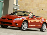 Photos of Mitsubishi Eclipse GT Spyder North America 2008–2011
