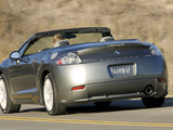 Pictures of Mitsubishi Eclipse GT Spyder Premium Sport Package North America 2006–08