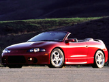 Mitsubishi Eclipse GS-T Spyder (D38A) 1997–99 wallpapers