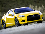 Mitsubishi Eclipse GT 2008–11 wallpapers