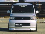 WALD Mitsubishi eK-Wagon Sports Line (H81W) 2004–06 wallpapers