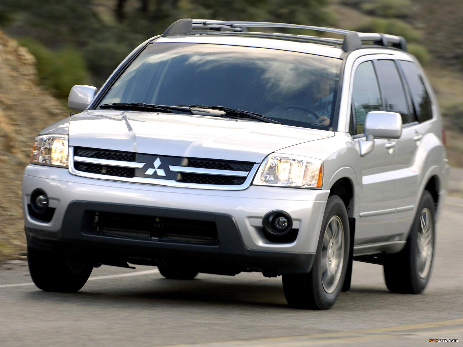 Images of Mitsubishi Endeavor 2006–09 (1600 x 1200)