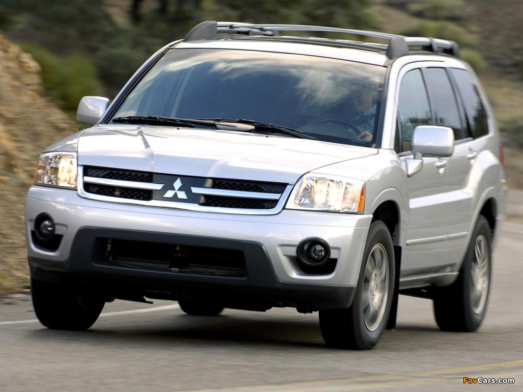 Images of Mitsubishi Endeavor 2006–09 (1024 x 768)