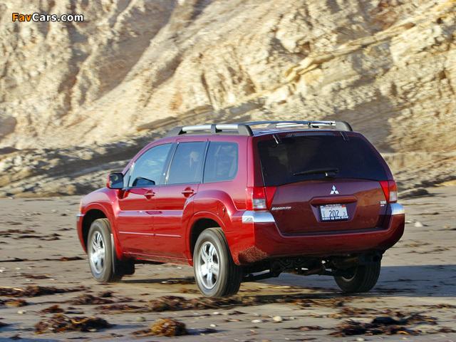 Mitsubishi Endeavor 2003–06 images (640 x 480)