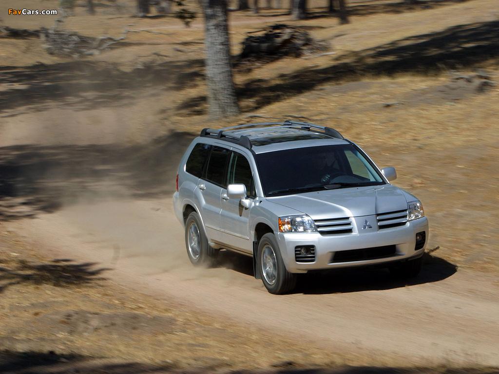 Mitsubishi Endeavor 2003–06 photos (1024 x 768)