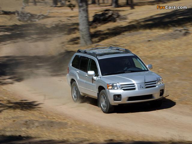 Mitsubishi Endeavor 2003–06 photos (640 x 480)
