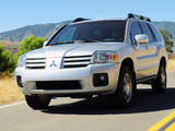Mitsubishi Endeavor 2003–06 wallpapers