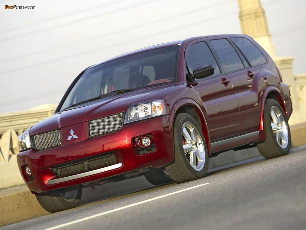 Mitsubishi Endeavor Ralliart Concept 2004 images (1024 x 768)