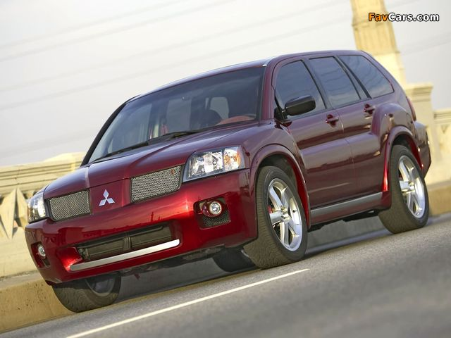 Mitsubishi Endeavor Ralliart Concept 2004 images (640 x 480)