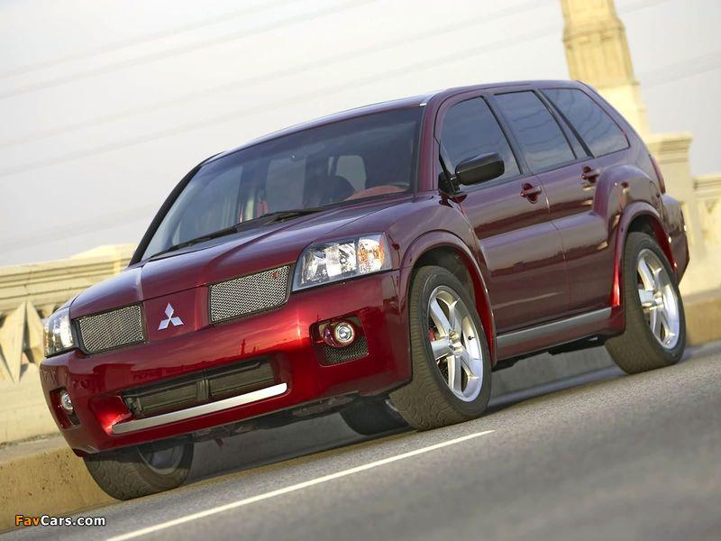 Mitsubishi Endeavor Ralliart Concept 2004 images (800 x 600)