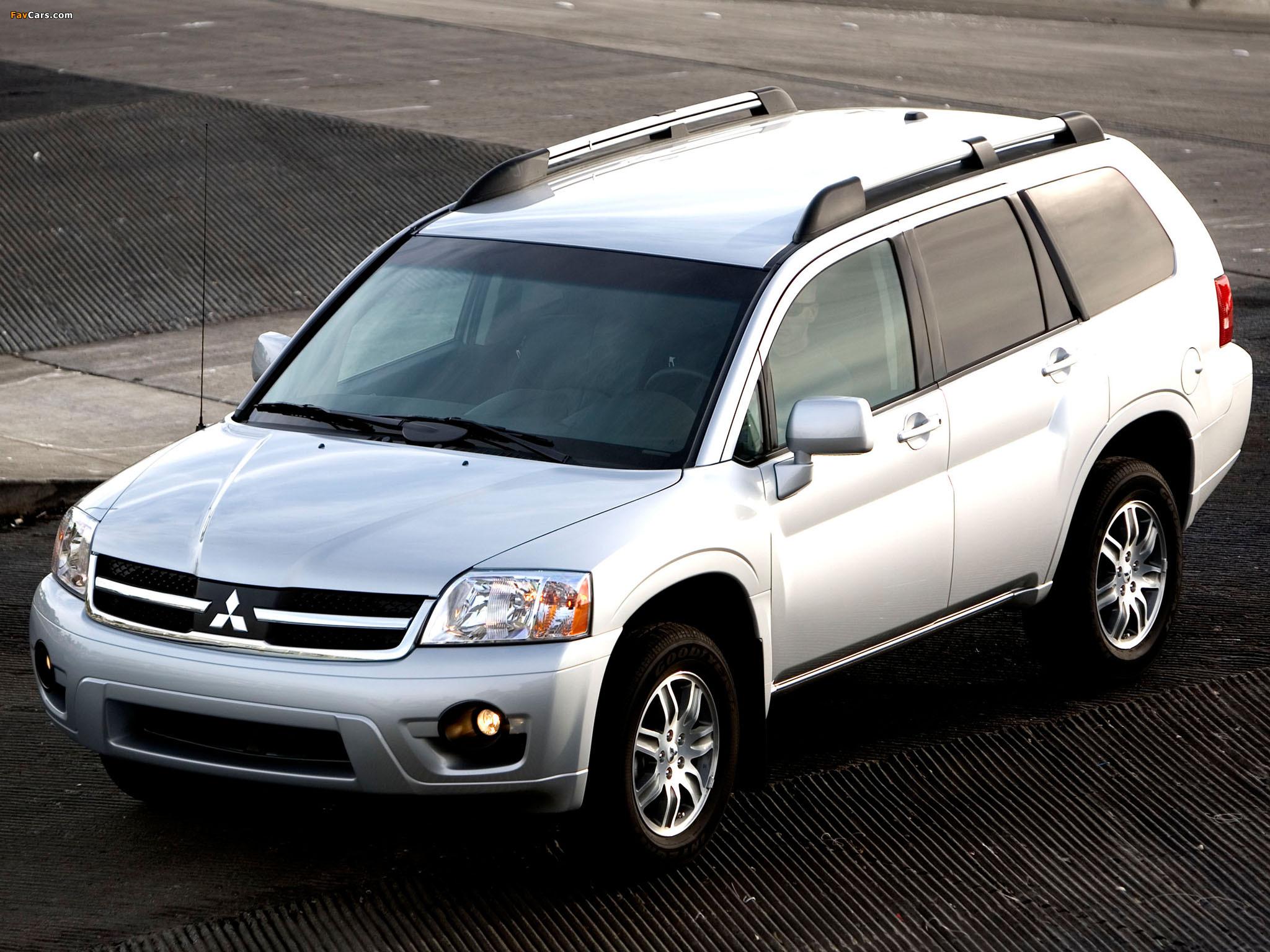Mitsubishi Endeavor 2006–09 photos (2048 x 1536)