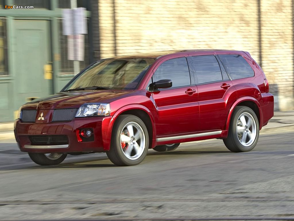 Pictures of Mitsubishi Endeavor Ralliart Concept 2004 (1024 x 768)