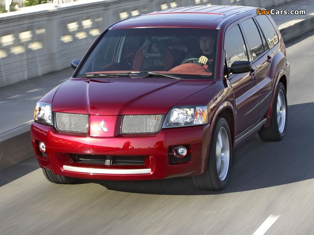 Pictures of Mitsubishi Endeavor Ralliart Concept 2004 (640 x 480)
