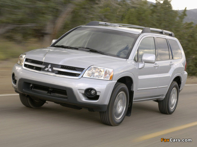 Pictures of Mitsubishi Endeavor 2006–09 (640 x 480)