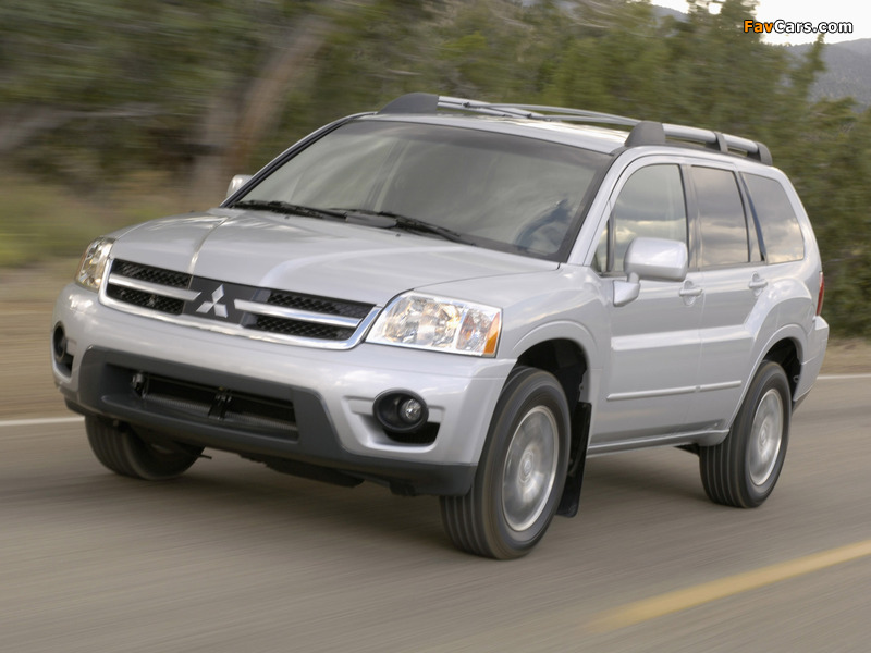 Pictures of Mitsubishi Endeavor 2006–09 (800 x 600)