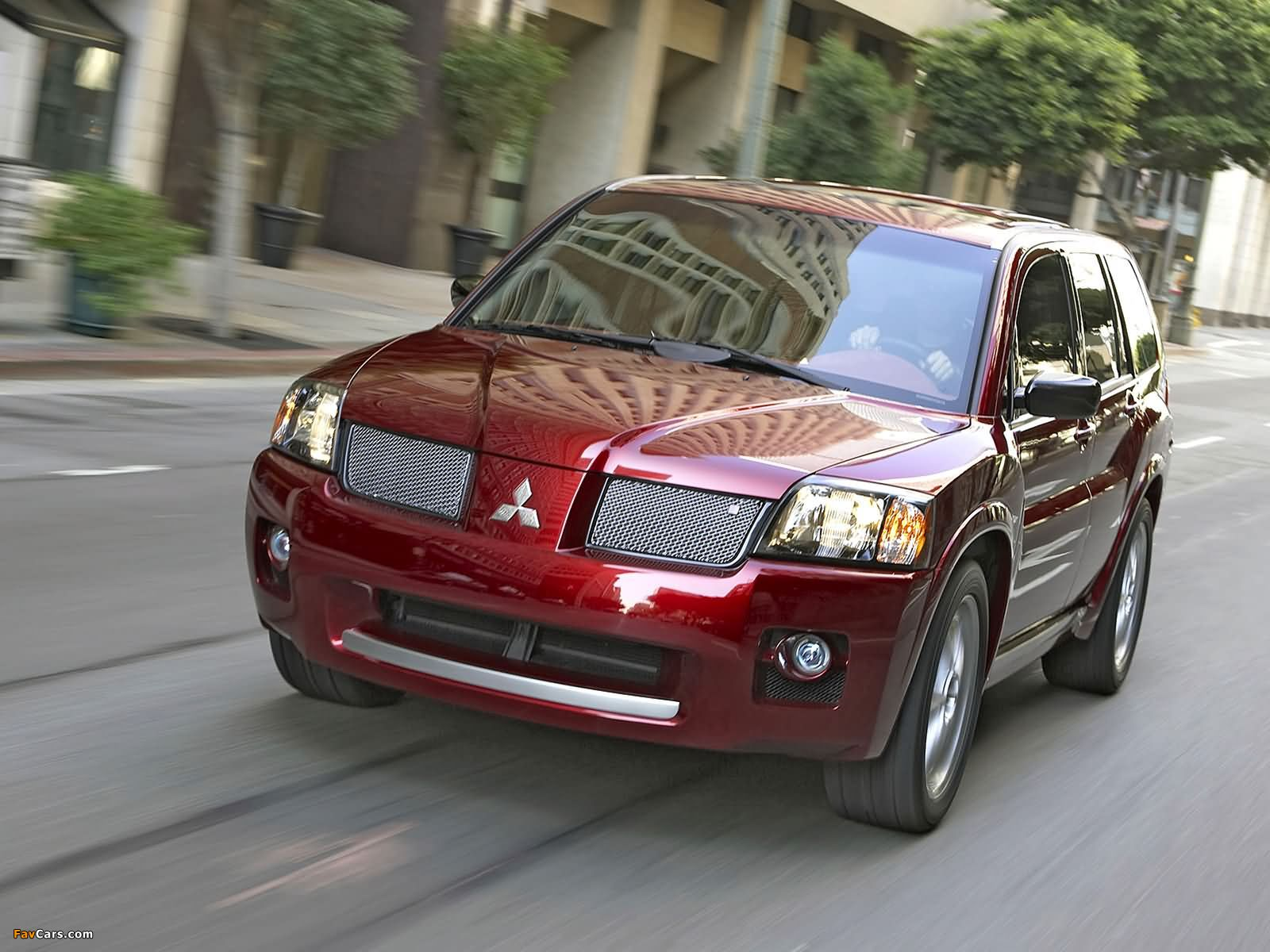Mitsubishi Endeavor Ralliart Concept 2004 wallpapers (1600 x 1200)
