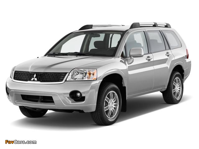 Mitsubishi Endeavor 2006–09 wallpapers (640 x 480)