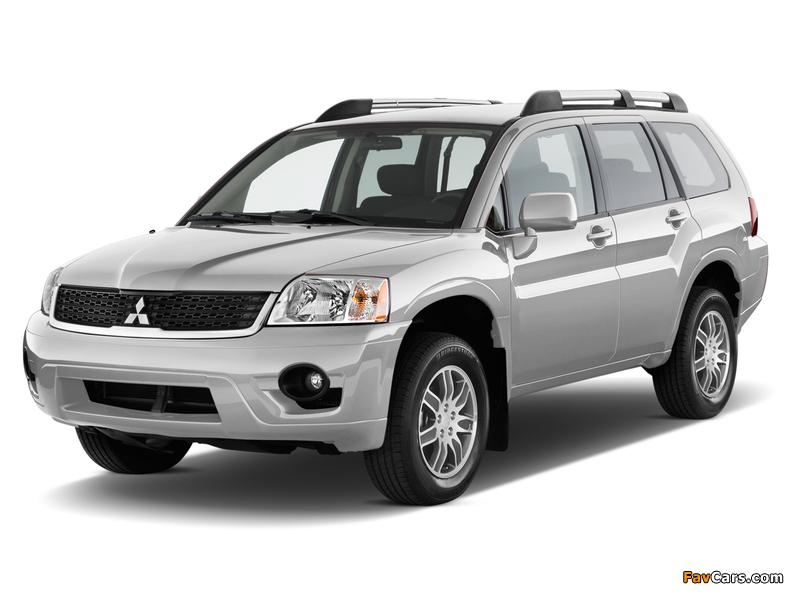 Mitsubishi Endeavor 2006–09 wallpapers (800 x 600)