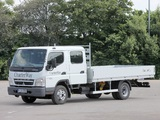 Images of Mitsubishi Fuso Canter Double Cab (FE7) 2002–10