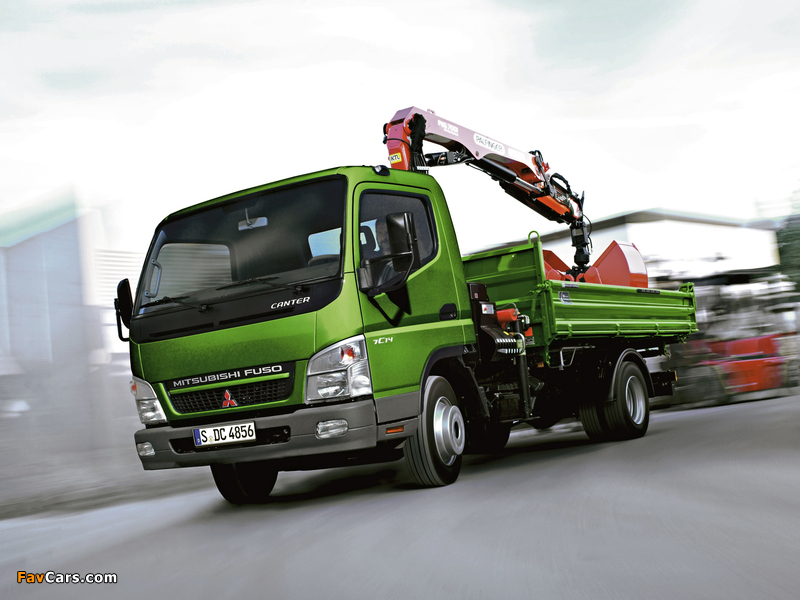 Images of Mitsubishi Fuso Canter (FE7) 2002–10 (800 x 600)