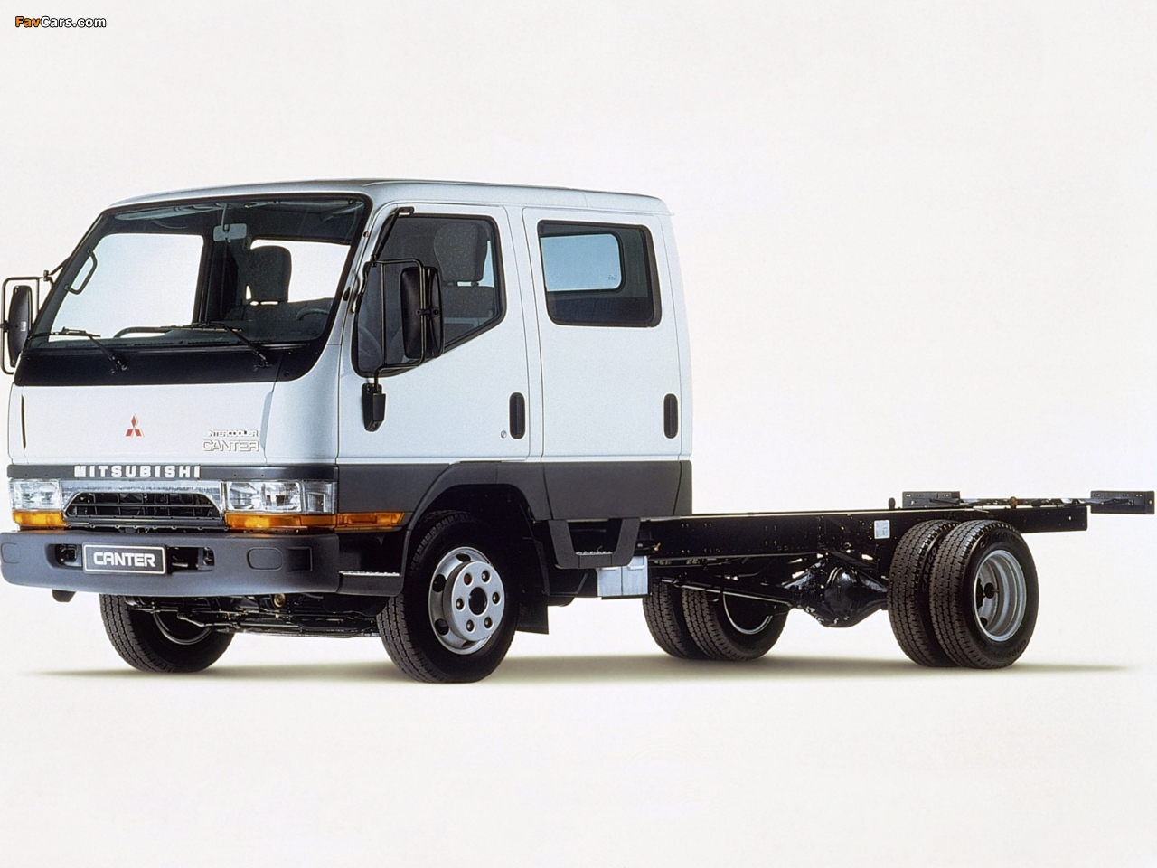Mitsubishi Fuso Canter Double Cab (FE5) 1993–2002 pictures (1280 x 960)