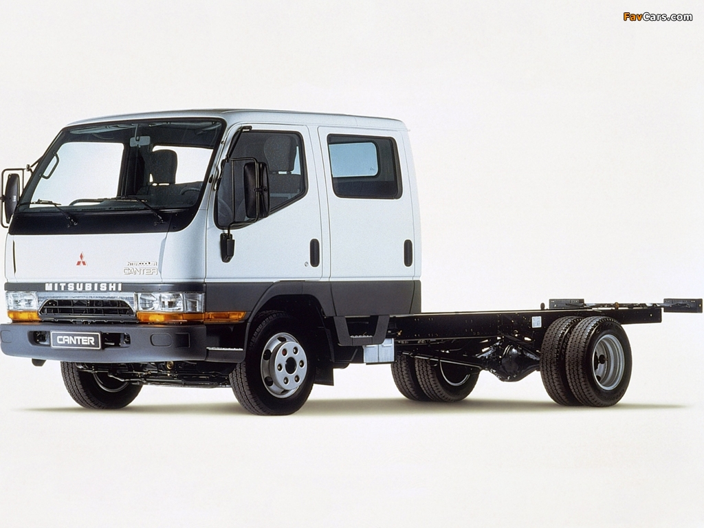 Mitsubishi Fuso Canter Double Cab (FE5) 1993–2002 pictures (1024 x 768)