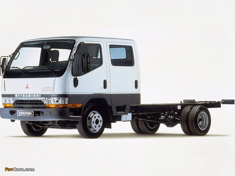 Mitsubishi Fuso Canter Double Cab (FE5) 1993–2002 pictures (800 x 600)