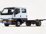 Mitsubishi Fuso Canter Double Cab (FE5) 1993–2002 pictures