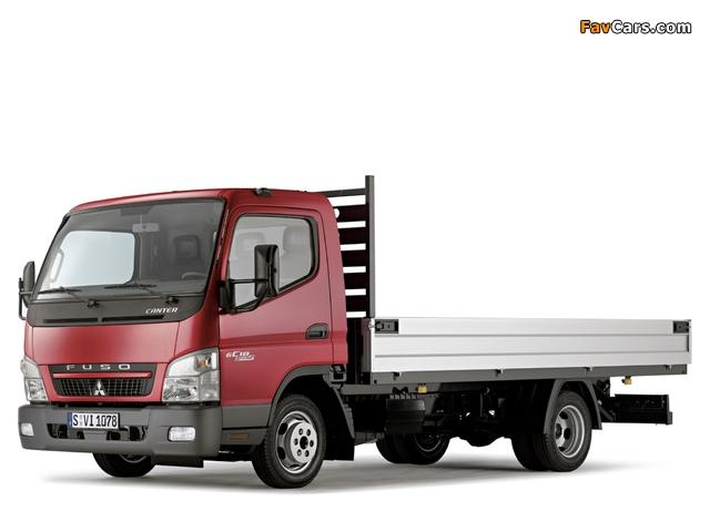 Mitsubishi Fuso Canter (FE7) 2002–10 images (640 x 480)
