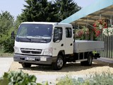 Mitsubishi Fuso Canter Double Cab (FE7) 2002–10 wallpapers