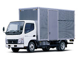 Mitsubishi Fuso Canter Eco Hybrid JP-spec (FE7) 2006–10 wallpapers