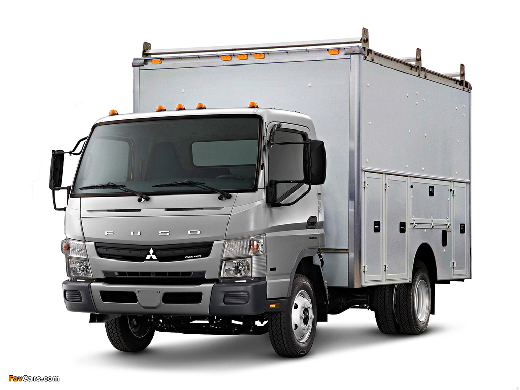 Mitsubishi Fuso Canter US-spec (FE7) 2010 photos (1024 x 768)