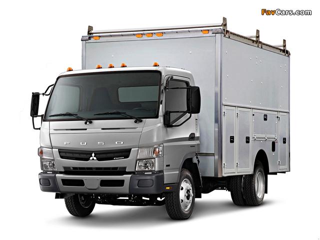 Mitsubishi Fuso Canter US-spec (FE7) 2010 photos (640 x 480)