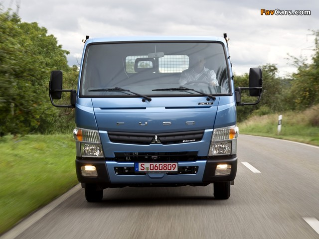 Mitsubishi Fuso Canter (FE7) 2010 pictures (640 x 480)