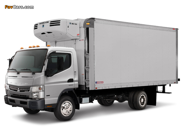 Mitsubishi Fuso Canter US-spec (FE7) 2010 pictures (640 x 480)