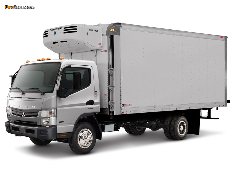 Mitsubishi Fuso Canter US-spec (FE7) 2010 pictures (800 x 600)