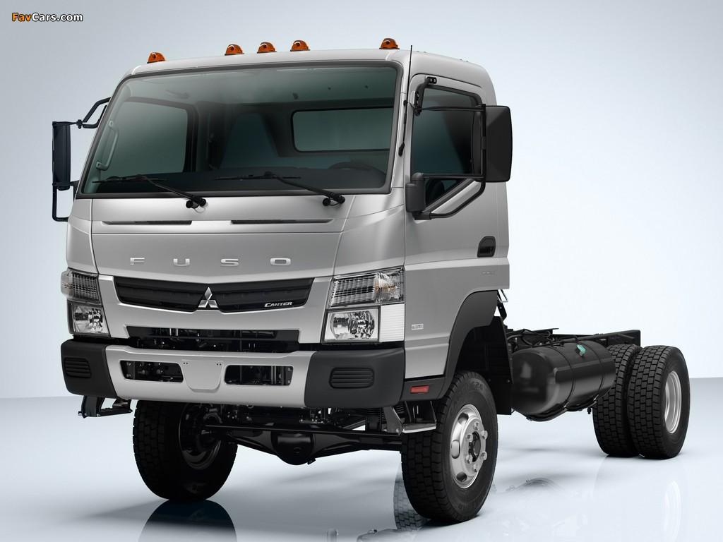 Mitsubishi Fuso Canter 6C18 US-spec (FG7) 2011 photos (1024 x 768)