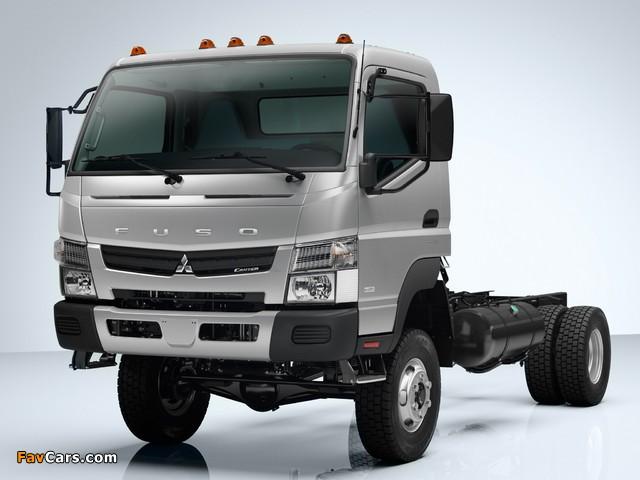 Mitsubishi Fuso Canter 6C18 US-spec (FG7) 2011 photos (640 x 480)