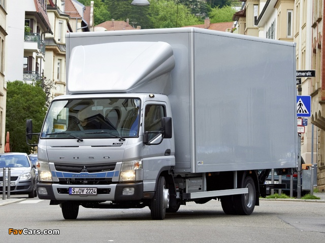 Mitsubishi Fuso Canter 7C15 Eco Hybrid (FE7) 2012 pictures (640 x 480)