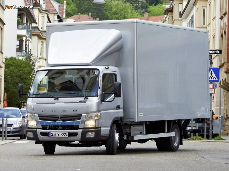 Mitsubishi Fuso Canter 7C15 Eco Hybrid (FE7) 2012 pictures (800 x 600)