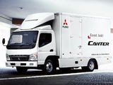 Mitsubishi Fuso Canter UK-spec (FE7) 2002–10 wallpapers