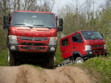 Photos of Mitsubishi Fuso Canter 4x4 & Canter Double Cab 4x4 (FG7)