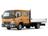 Pictures of Mitsubishi Fuso Canter Double Cab (FE7) 2002–10