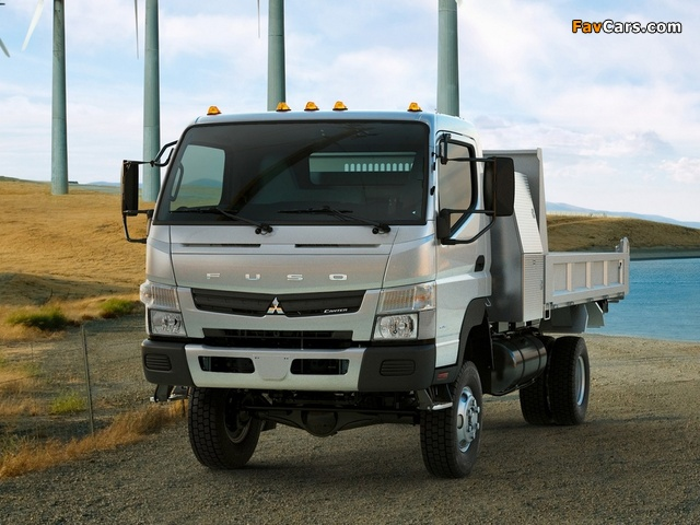 Pictures of Mitsubishi Fuso Canter 6C18 US-spec (FG7) 2011 (640 x 480)