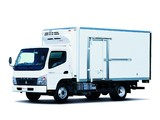 Mitsubishi Fuso Canter Eco Hybrid JP-spec (FE7) 2006–10 wallpapers
