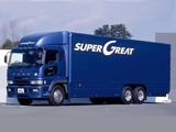 Mitsubishi Fuso Super Great (FU) 1996–2007 wallpapers