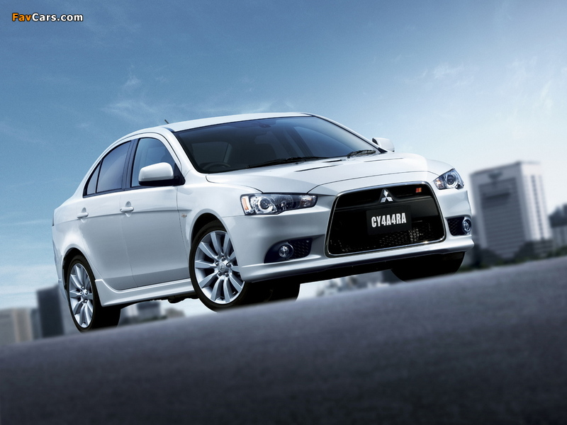 Images of Mitsubishi Galant Fortis Ralliart 2008 (800 x 600)