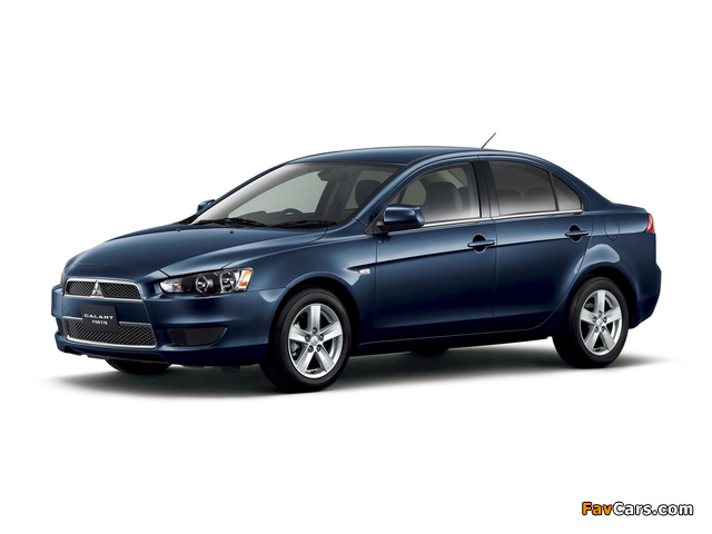 Mitsubishi Galant Fortis 2007 pictures (640 x 480)